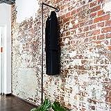 Various Kleiderständer Kleiderstange in zeitlosem Industrie-Design/aus hochwertigem Metall/Ideal ALS Wand-Garderobe zum Aufhängen von Jacken, Mänteln etc.