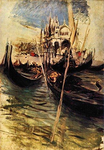 Das Museum Outlet-San Marco in Venedig von Giovanni Boldini, gespannte Leinwand Galerie verpackt. 29,7x 41,9cm