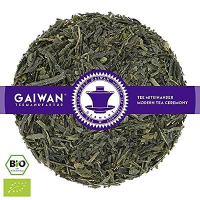 """N° 1367: Thé vert bio """"Tanzania Luponde Green BOP"""" - feuilles de thé issu de l'agriculture biologique - GAIWAN® GERMANY - thé vert d'Afrique issu de l'agriculture biologique contrôlées"""