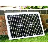 PK Green 20W 12V Monocrystalline Solar Panel