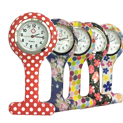 Reloj Silicona Reloj de Bolsillo de...