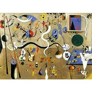 Puzzle Michele Wilson - Puzzle Carnaval d'arlequin MIRO - Bois - W15450