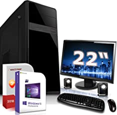 PC Dual Core Computer Gamer A6 5400k 8GB - 1000GB - Rechner Komplett Windows 10