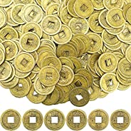 Chinese New Year Feng Shui Coins Good Luck Fortune Coin I-Ching Coins for Health and Wealth