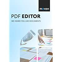 Movavi PDF Editor | View, Edit, Insert | 1User / 1 Year | Email Delivery - No CD