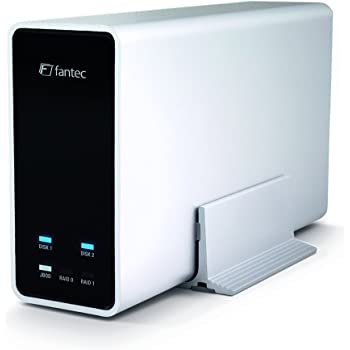 Fantec mobiRAID X2, 6.35 cm RAID & USB 3.0 Case