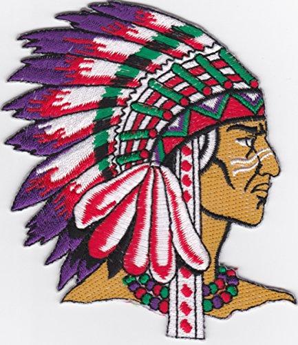 I0173 indio nativo americano Jefes de tribu 121