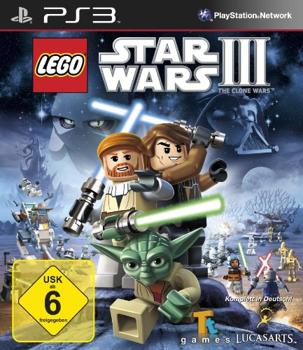 Play Station Star Lego Wars (Lego Star Wars III: The Clone Wars)