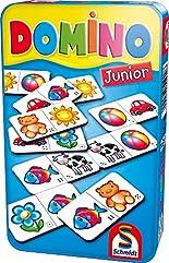 Schmidt Spiele 51240 Domino: Domino Junior in Metalldose hier kaufen