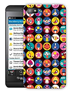 """Humor Gang Cuteness Personified Printed Designer Mobile Back Cover For """"Blackberry Z10"""" (3D, Matte Finish, Premium Quality, Protective Snap On Slim Hard Phone Case, Multi Color)"""