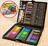 Aidle Deluxe Art Drawing Sets, 150 Pieces For Coloring Books, Draw Pictures, Write Notes, Assorted Colors