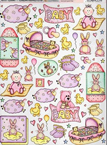 2-hojas-bebe-mix2-reacondicionamiento-tema-collage-decoracion-hojas-ideal-para-manualidades-tarjeta-