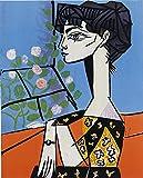 Berkin Arts Pablo Picasso Giclée Toile Imprimer Peinture Décoration Reproduction Affiche Print(Les peintres témoins de leur temps)