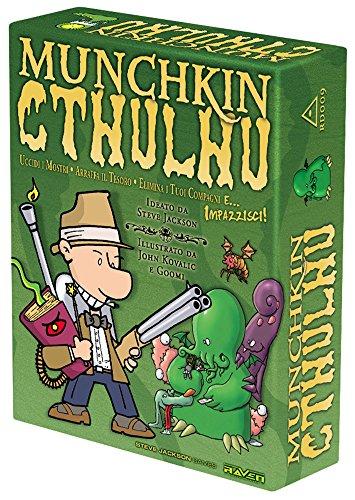 Raven Munchkin Cthulhu - Juego de Mesa (Contenido en Italiano)
