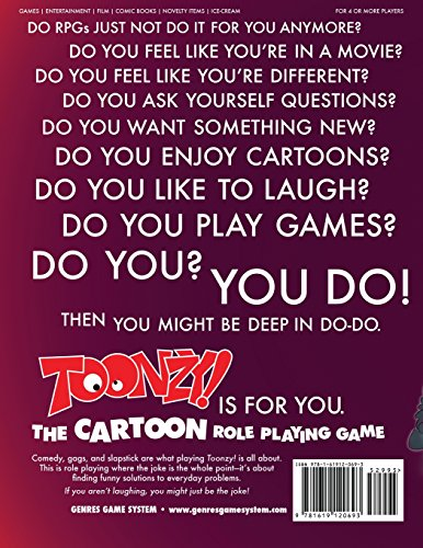 Toonzy!: the cartoon role-playing game