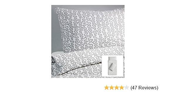 Ikea Krakris Bettwäscheset 2tlg 140x200cm Und 80cm X 80cm