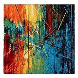 Teppich Quadratisch Gallery und Multicolor–200x 200cm M033
