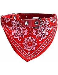 Maison ducomi® Dog Collar ajustable, bandana, el accesorio para perro y gato, para el animal Bufanda