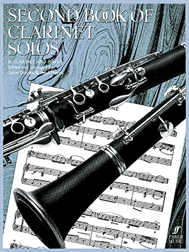 Second Book Of Clarinet Solos: (Complete) (Faber Edition)