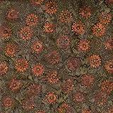 Fabric Freedom Kürbis Räder Design 100% Baumwolle Bali Batik Tie Dye Muster Stoff für Patchwork, Quilten &,–(Preis Pro/Quarter Meter)