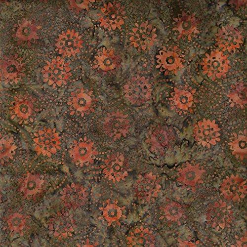 Fabric Freedom Kürbis Räder Design 100% Baumwolle Bali Batik Tie Dye Muster Stoff für Patchwork, Quilten &,-(Preis Pro/Quarter Meter) -