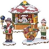 Unbekannt Hubrig Neuheit 2018 - Set 2 - Winterkinder - Spielzeughändler Geschenkekind Weihnachtspostamt