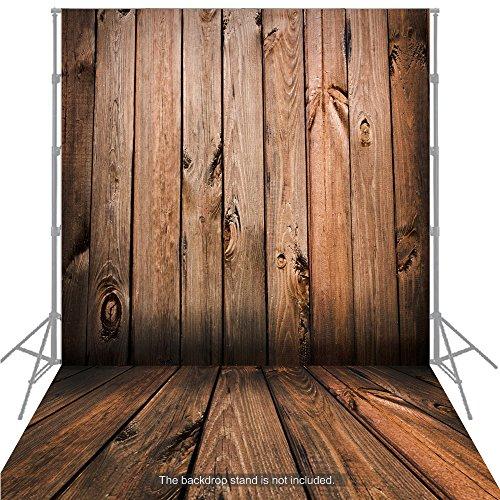 Andoer 1.5 * 2m Fondo Fotografía Clásico de Moda Suelo de Madera para Estudio Fotógrafo Profesional (A)