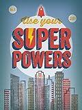 Oopsy Daisy Leinwand, Verwenden Sie Ihr Super Powers Blau von Bee Dinge, 18von 24