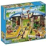 PLAYMOBIL 5921 - Besuch im Tierpark - Zoo-Set mit viel Zubehör