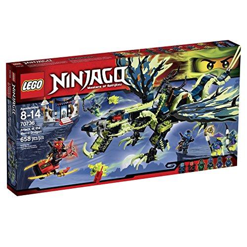 LEGO Ninjago 70736 Attack of the Morro Dragon Building Kit by LEGO