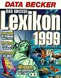 Das große Lexikon '99. 2 CD- ROMs für Windows 95 -