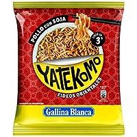 Gallina Blanca Yatekomo Pollo Con Soja, Fideo Orientales - 79 g