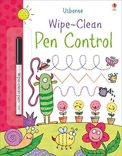 Wipe-Clean Pen Control by Kimberley Scott (Illustrator) (1-Jun-2015) Paperback