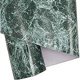 Grün Granit Look Marmor Glänzende Folie Vinyl selbstklebend Counter Top Abziehen und Aufkleben Wand Aufkleber 61x 200,7cm