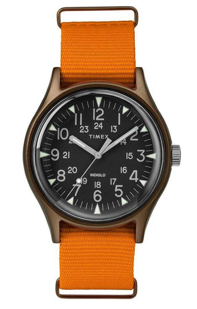 Timex Mens Analogue Classic Quartz Watch with Nylon Strap