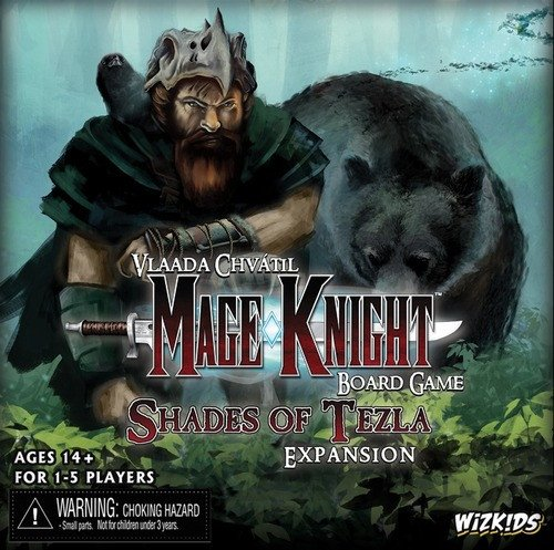 WizKids Mage Knight Expansion Shades of Tezla Juego de Mesa
