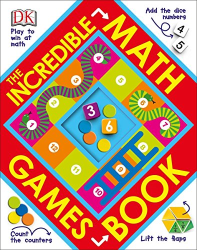 The Incredible Math Games Book (Kindergarten Math Games)