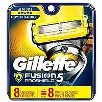 Gillette Fusion Proshield Men's Razor Blade Refills, 4 Blade