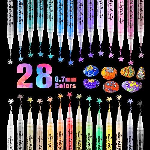 Otuladores pintura acrílica RATEL 28 colores Prima