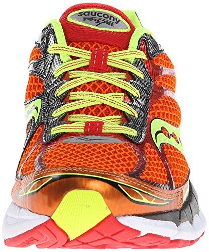 Saucony Ride 7 Scarpe da Corsa Orange / Citron / Red
