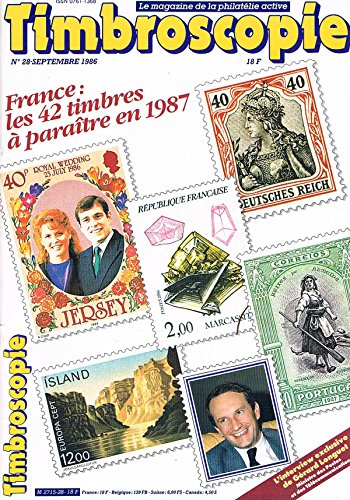 Timbroscopie N°28 sep 1986: Timbres 1987