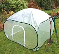 Garden Poly Mini Poly House Greenhouse - 0.75 metre High x 1m x 1m Wide