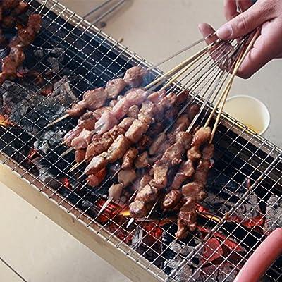 Nclon Kohle Picknickgrill Holzkohlegrill?smoker Bbq Barbecue Edelstahl Faltbare Portable Outdoor Camping Picknick Garten Beach 3-5 Volk