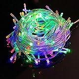 600 LED 60M RVB LED Fée Lights Christmas Fairy Lights Ficelle 31V Extérieure Guirlande Lumineuse pour Noël Halloween Jardin Intérieur & Extérieur