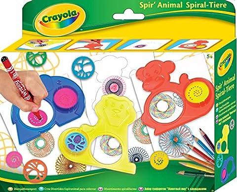 Crayola 545200- Spiral-Tiere