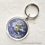 Schlüsselanhänger Weltkugel Erdball