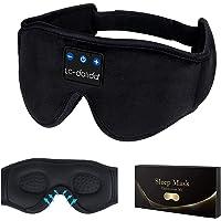 Schlafkopfhörer Bluetooth, 3D Schlafmaske Augenmaske Schlaf Kopfhörer, Bluetooth 5.2 Sleepphones Sleep Headphones…