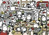 Ravensburger 19342 - sheepworld: (Sch) lämmerbude - 1000 Teile Puzzle
