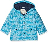 Hatley Boys Printed Rain Jacket, Blue (Shark Alley), 2 Years