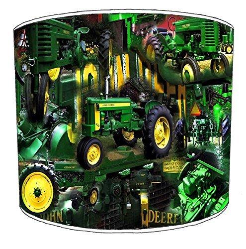 20,3cm Deckenleuchte Bagger Traktor Truck JCB Print Lampenschirm 6 Modern 38 Grün -